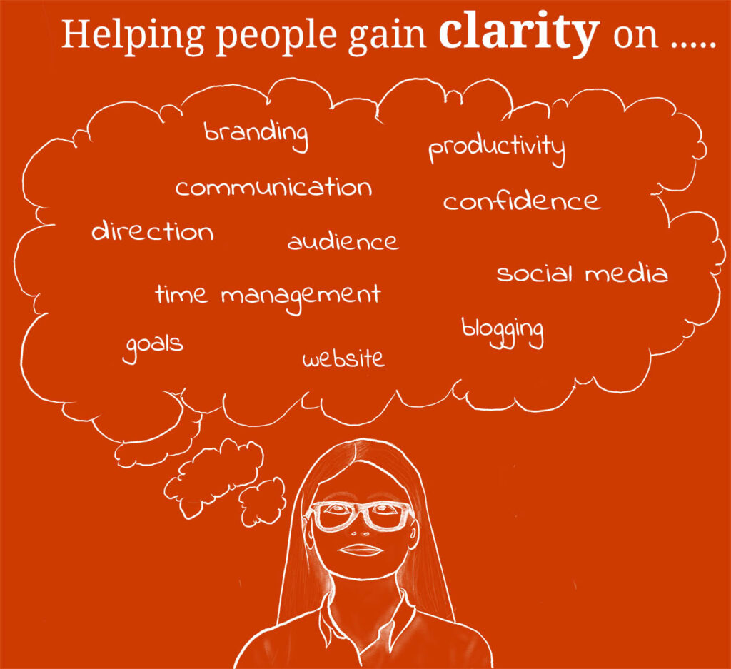 help people and businesses gain clarity to become more productive and thrive