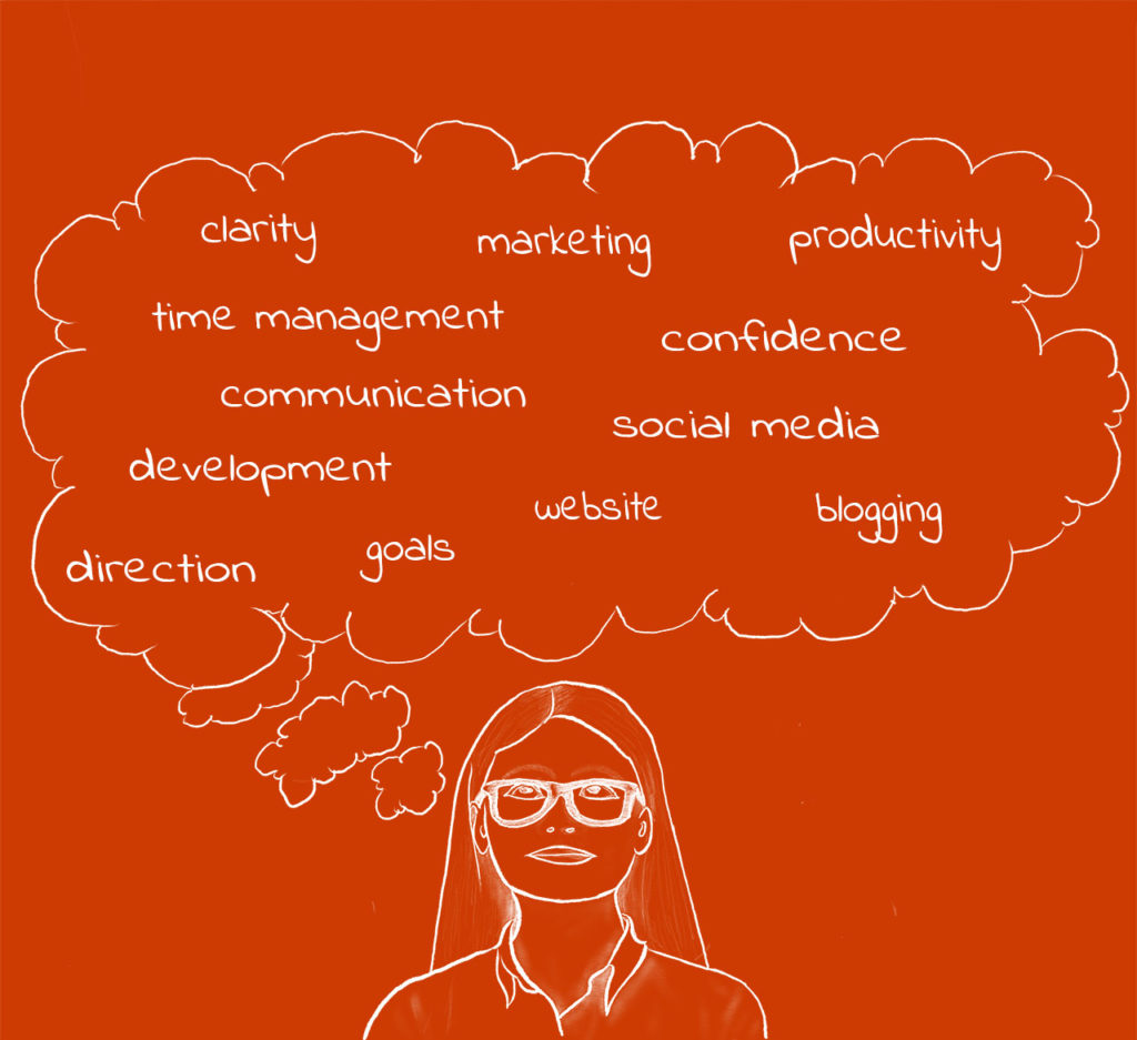 Heads up coaching clarifying thoughts
